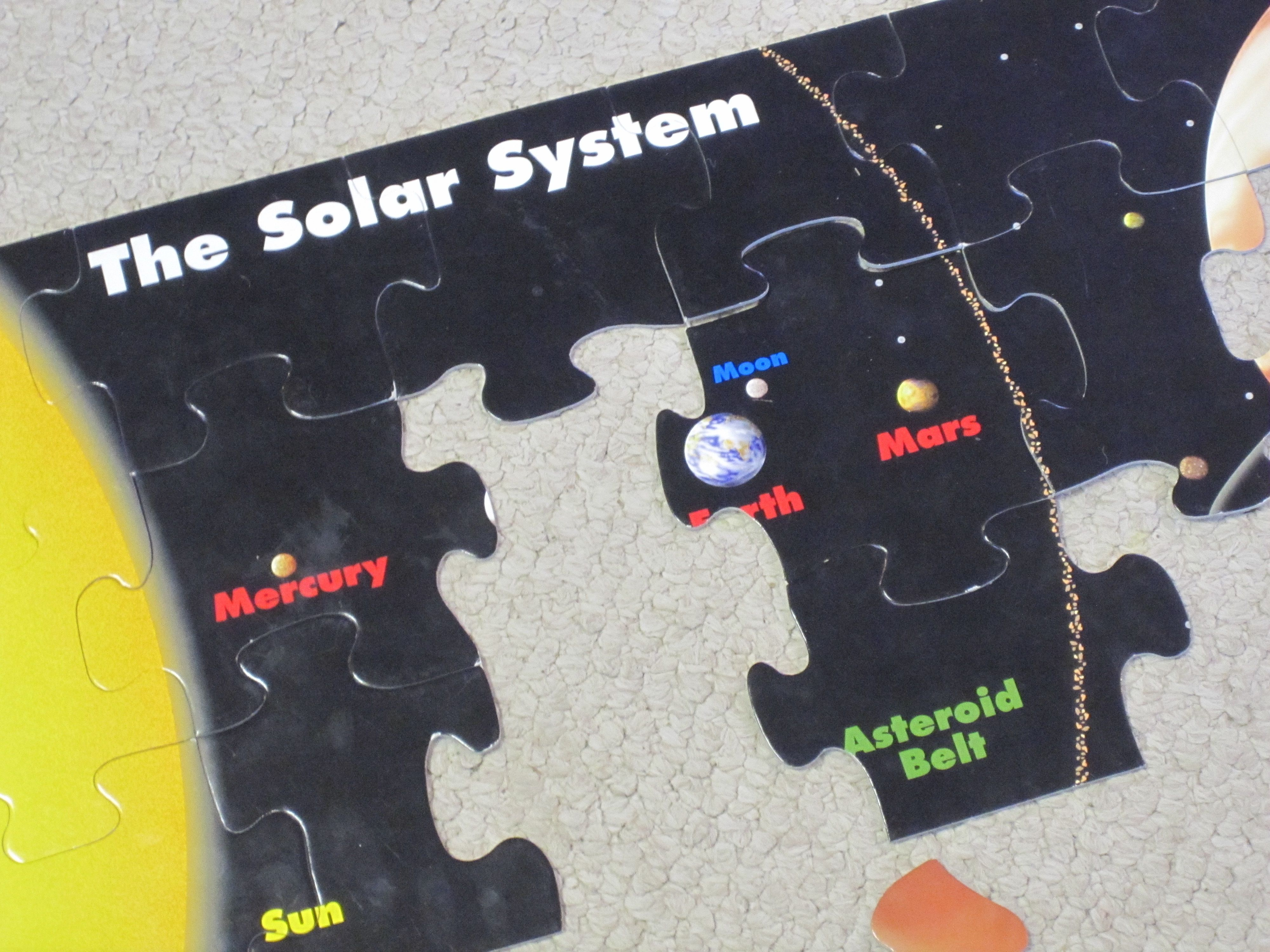 Solar System Puzzle & Solar System Fun Crossword - Pics about space 25forcollege.com