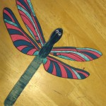 9 Popsicle stick dragonfly
