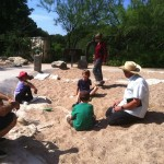 We took a field trip to dig in the Dino Pit at Austin Nature and Science Center.